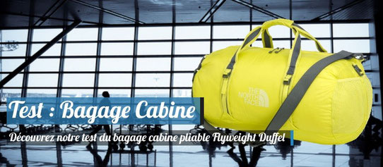 Test et Avis du bagage cabine FlyWeight Duffel, The North Face