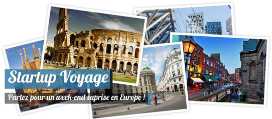 Partez pour un week-end surprise en Europe !