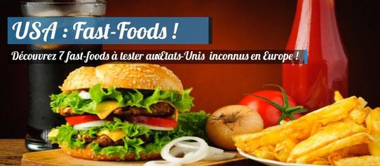 Fast-Foods à tester aux Etats-Unis