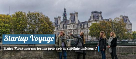 Startup Voyage - WideTrip - Visitez Paris avec des locaux