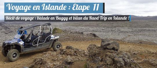 Récit de voyage en Islande : Buggy dans les champs de lave à Grindavik !