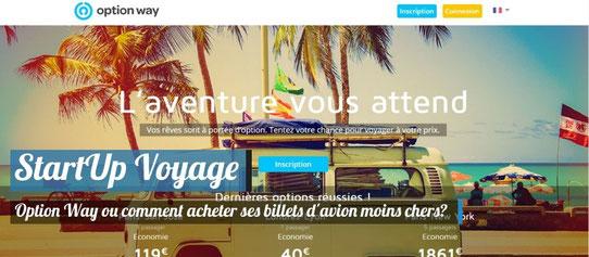 Startup Voyage - Option Way - Comment acheter ses billets d'avion moins chers