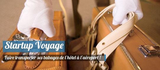 Faire gérer ses bagages à la fin de son voyage !
