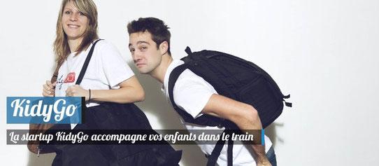 La Startup Voyage KidyGo Accompagne vos enfants dans le train !