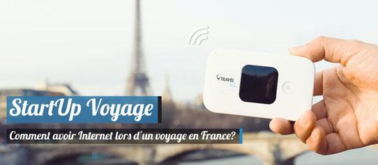 Startup Voyage - TravelWifi - Avoir Internet en voyage !
