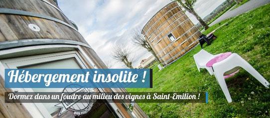 Coup 2 Foudres à Saint-Emilion