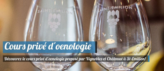 Cours privé d'Oenologie à Saint-Emilion