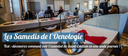 Les Samedis de l'oenologie, Saint-Emilion