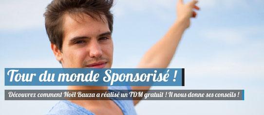 Noel Bauza, Tour du Monde Gratuit