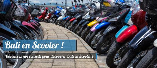 Visiter Bali en Scooter