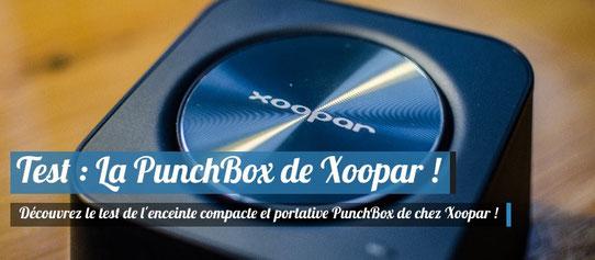 PunchBox - Xoopar - Enceinte Nomade