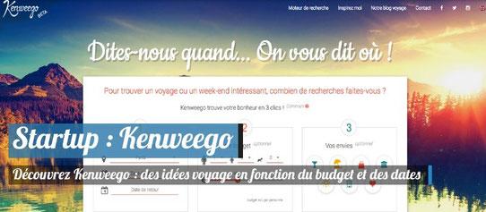 Startup Voyage Kenweego - Moteur de recherche de voyages