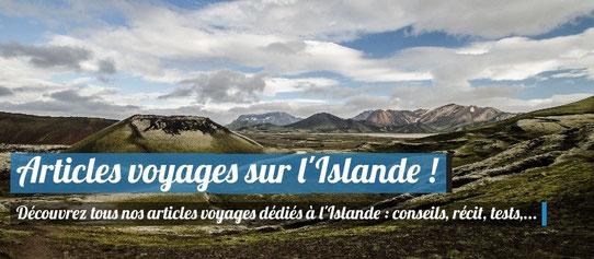 Articles voyages en Islande