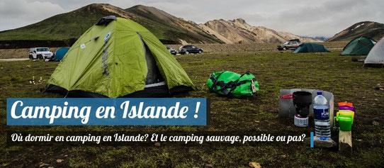 Camping en Islande !