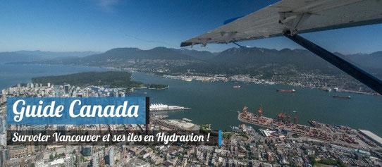 Guide Canada - Survoler Vancouver en Hydravion