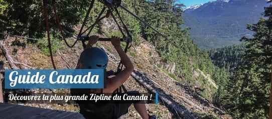 Guide Canada - Zipline - Whistler