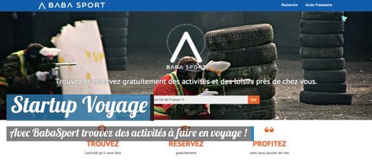 ScreenShot - BabaSport - Startup Voyage