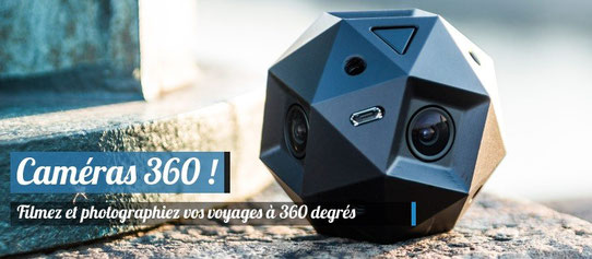 Ces caméras qui filment et photographient à 360 degrés ! (Photo - Source : http://www.sphericam.com/gallery/)