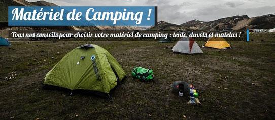 Matériel camping pour l'Islande !