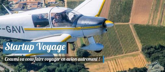 StartUp Voyage - Coavmi - Voyager en avion privé !