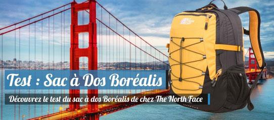 Test : Sac à dos Boréalis The North Face