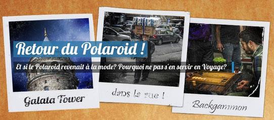 Retour en force du Polaroid !