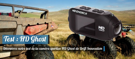Test : HD Ghost, Drift Innovation