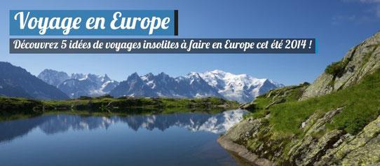 Idées voyages Europe