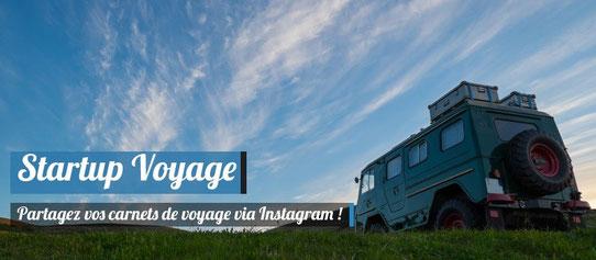 Partager son carnet de voyage via Instagram