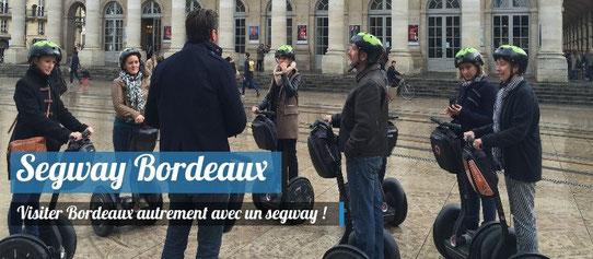 Visiter Bordeaux en Segway