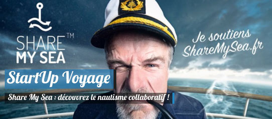Startup Voyage - Share My Sea - Le Nautisme Collaboratif !