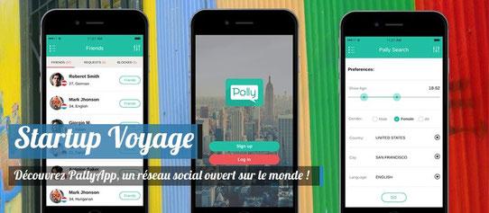 Pally App - Startup Voyage