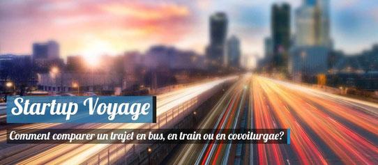Comment comparer un trajet en bus, un train ou un covoiturage?