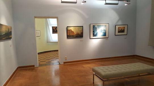 Drei Gemälde Venedigs aus verschiedenen Epochen