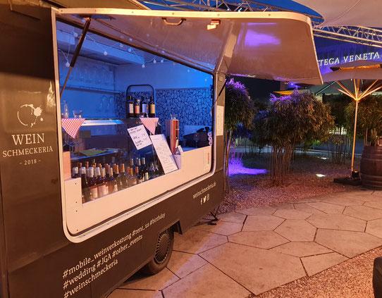 Wein Truck auf dem Street Food Festival