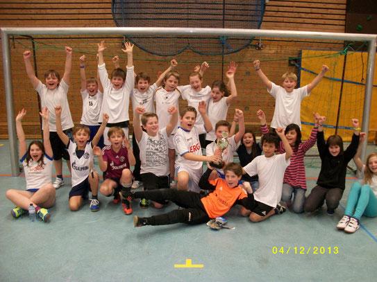 Siegermannschaft Klasse 5f