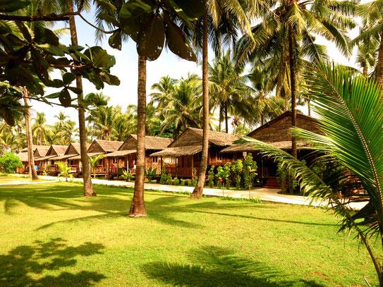 Hotelanlage des Shwe Hin Tha Hotels