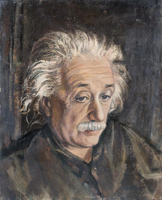 Hansegger - Porträt Albert Einstein - Kunstmuseum St. Gallen