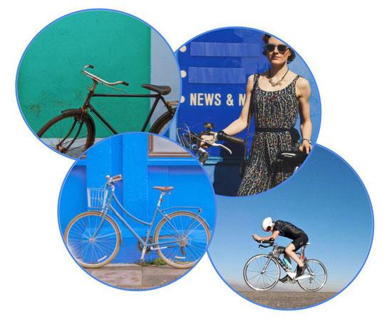 vélo hollandais, vélo vintage et vélo de course