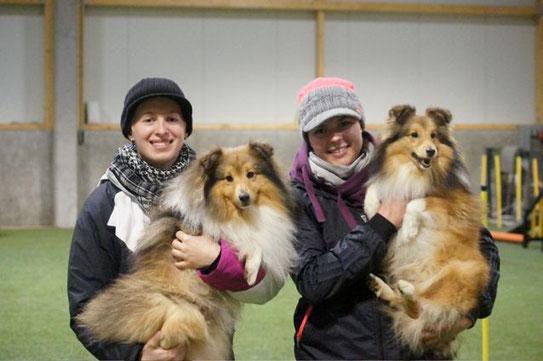Lisa mit Cysco & Tereza mit Sir
