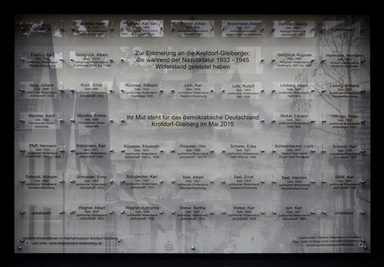 Gedenktafel Krofdorf