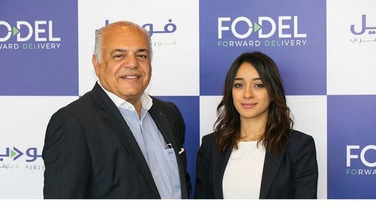 Fodel chairman Hamdi Osman and founder/CEO Soumaia Benturquia
