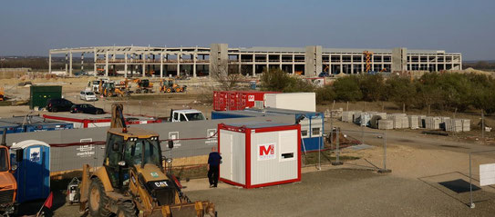 BUD's Cargo Terminal is taking shape, will go online next fall – courtesy Mihaly Hardy