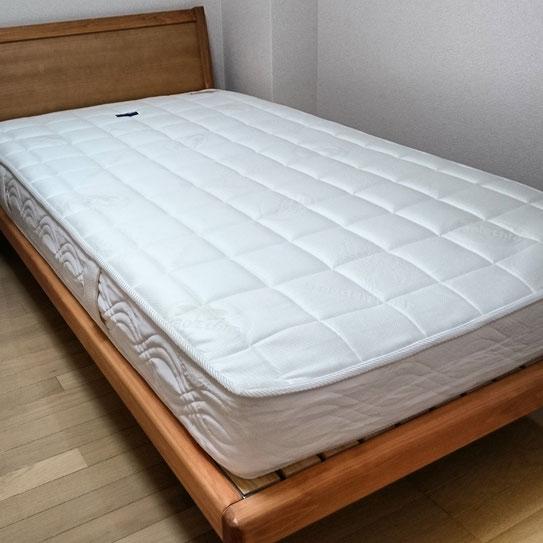 マニフレックス「フラッグFX」と府中家具「ひのきベッド」をお届け / マニステージ福岡