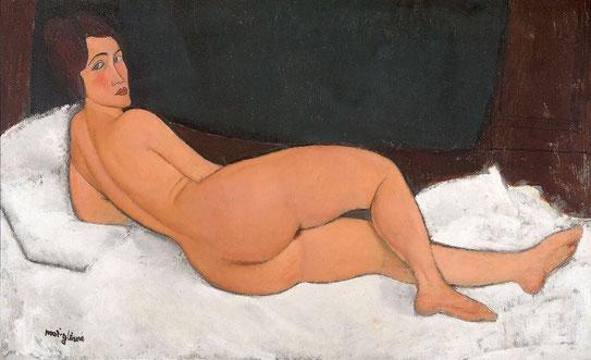 Самые известные картины в мире - Лежащая обнаженная (Амадео Модильяни)