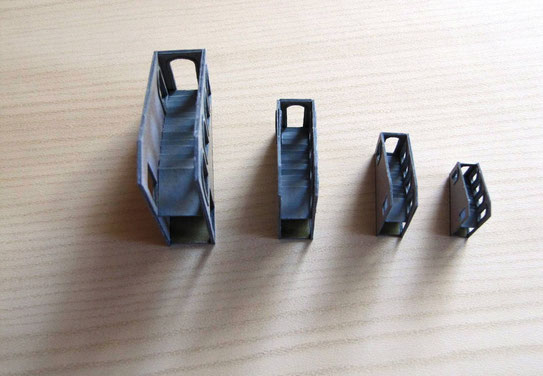 (c) W. Fehse - Treppenanbau mit leporello-gefaltete Treppenstufen