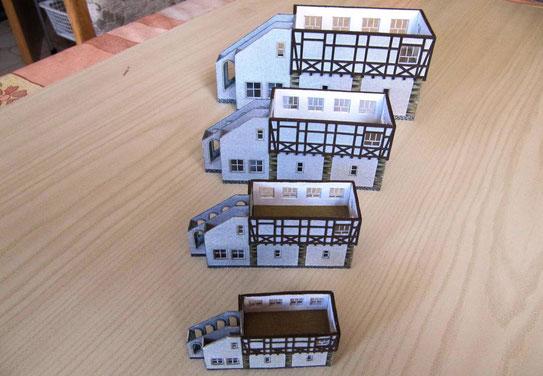 (c) W. Fehse - Stellwerkskörper mit Treppenanbau und Zwischengeschoss