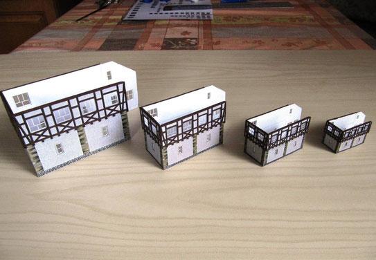 (c) W. Fehse - Treppengiebelseite in H0, TT, N und Z