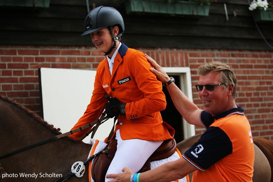 Edwin Hoogenraat en Mart IJland op Dutch Youngster Festival 2018. Foto Wendy Scholten