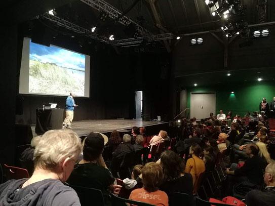 Live-Präsentation ADFC-Radmesse Karlsruhe, Februar 2020 / 400 Zuschauer